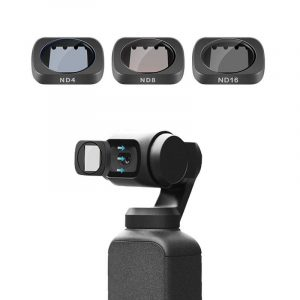 Telesin OS-FLT-ND1 ND4 ND8 ND16 Lens Filter for DJI OSMO Gimbal Action Sports Camera